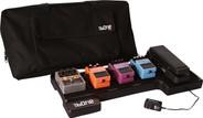 Gator Cases G-BONE Bone Pedal Board; w/ Carry Bag & Power Supply