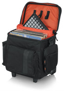 Gator Cases G-CLUB-DJ CART DJ Cart for 35 LPs & Serato-Style Interface