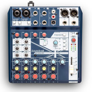 Soundcraft Notepad-8FX 8 ch desktop mixer with USB and Effects