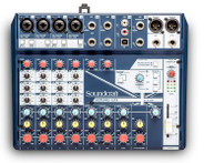Soundcraft Notepad-12FX 12 ch. Desktop mixer with USB and Effects