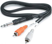 Hosa 1/4 TRS To RCA Insert