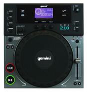 Gemini CDJ-210 Professional Tabletop CD/MP3 Player