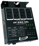 American DJ DP-DMX20-L 4 Channel DMX Dimmer Pack