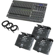 American DJ Stage Pak 2 Control Sys Stage Lighting Accessory