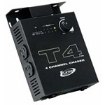 American DJ T4 Lighting Fixture 4 Channel Timed Chase Controller