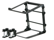 Odyssey LSTANDM Folding Mobile Laptop Stand with Table and Case Clamps