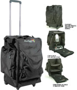 Arriba AC-165 Lighting Bag with Wheels and Handle