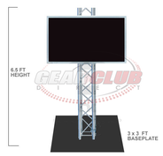 Global Truss 6 ft. Truss Plasma Stand
