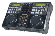 American Audio Encore 1000 2-Channel Mixer with Dual CD/MP3 Player
