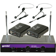 Gemini VHF-2001HL Wireless Microphone System