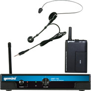 Gemini UHF-116HL Wireless Microphone System