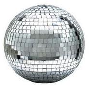 "Eliminator EM12 12 Mirror / Disco Ball with Motor Ring"""