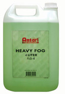 "Antari Green"" Heavy Fog Fluid (4 Liter Container)"""