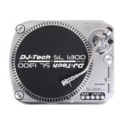 DJ-Tech SL-1300 MK6 Quartz Drive DJ Turntable - Silver