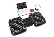 DJ Tech iScratch Vinyl Pack Analog and Digital DJ System