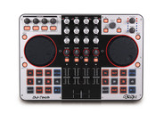 DJ Tech 4MIX 4-Channel Controller with Audio Interface Built-in