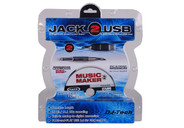 DJ Tech JACK-2-USB Cable with Recording Software