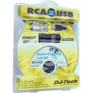 DJ Tech RCA-2-USB Recording System