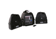 DJ Tech Visa 200 Light Portable Pa Systems