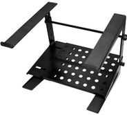 JamStands JS-LPT200 2-Tier DJ Laptop Stand