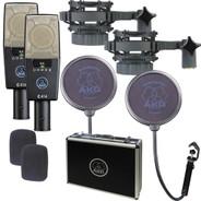 AKG C 414 XLS/ST Broadcast Microphone Stereo Set