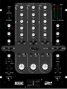 Rane Empath Professional DJ Mixer for Touring and Club Installation - Rotary