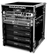 Marathon MA-14UAD Professional Amplifier Rack