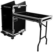 Marathon MA-11M16UCT2 Slant Mixer Rack Case with Tables