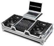 Marathon MA-CDJ2K12WLT DJ Coffin with Low-Profile Wheels