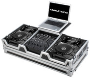 Marathon MA-CDJ9H12WLT Large CD Player Case