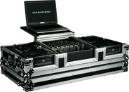 Marathon MA-CDI12WLT DJ Coffin with Laptop Stand
