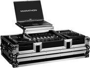 Marathon MA-CDJ12WLT DJ Coffin Case with Laptop Stand
