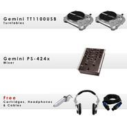 GCD TT1100USB Pack