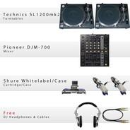 GCD SL 1200/700/Whitelabel Package