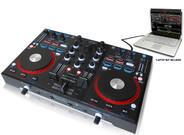 Technical Pro DMXU90C Professional USB DJ Mixer Controller with Audio Interface