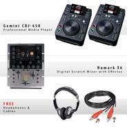 Gemini CDJ-650 Pack VI