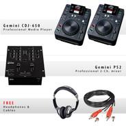 Gemini CDJ-650 Pack VII