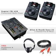 Gemini CDJ-650 Pack IX