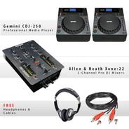 Gemini CDJ-250 Pack IV