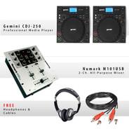 Gemini CDJ-250 Pack VII