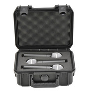 SKB 3I-0907-MC3 Injection Molded case with foam for (3) Mics