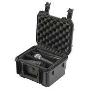 SKB 3I-0907-6BDD Small Military Standard Waterproof Case with Double Gray Dividers
