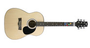 Peavey 3/4 Acoustic ChordBuddy Pack Guitar