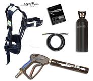 CryoFX Cryo Gun + Backpack + Tank
