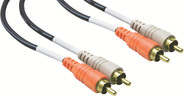 Hosa CRA Stereo Interconnect - Dual RCA to Same with Gold-Plated Contacts