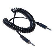 Hosa CMM-105C Stereo Interconnect - 3.5mm TRS to Same, Coiled Cable