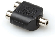 Hosa GRF-341 Coupler - 3.5mm TRS to Dual RCA