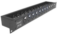 Hosa PDR-369 Patch Bay - 12-Point, XLR3F to XLR3M