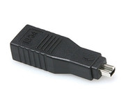 Hosa GFW-517 FireWire 400 Adaptor - 6-pin to 4-pin