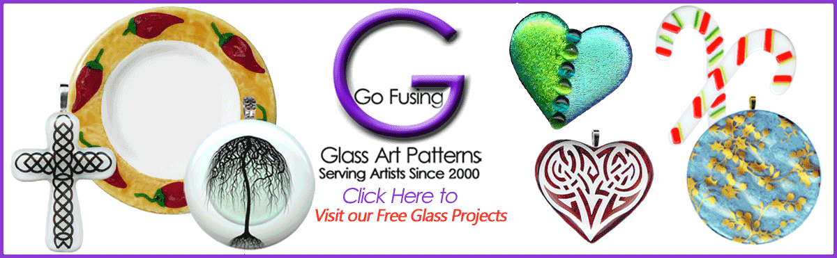 Go Fusing Art Glass Education Free Fused Glass Projects